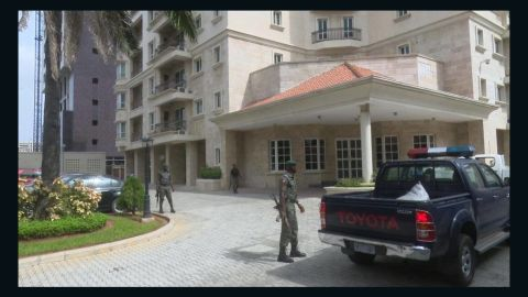 The money was found in an apartment in an upscale part of Lagos