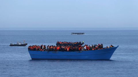 Since early on Saturday April,15 the Migrant Offshore Aid Station, a humanitarian organization, has worked to rescue 9 boats, containing an estimated 1,500-1,800 people in the Mediterranean Sea.