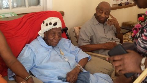 """Violet Mosse-Brown, 117, is the current oldest person in the world. She grew up in Jamaica, born <a href=""""http://www.cnn.com/2017/04/17/health/worlds-oldest-woman-trnd/"""">67 years before</a> the country was founded, and said she earned that title by avoiding rum and through her """"faith in serving God."""" The music teacher and church organist still keeps her mind active, keeping the records for the local cemetery."""