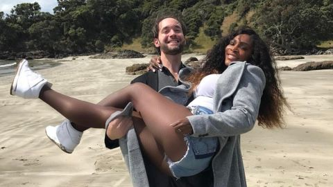 Williams and Ohanian -- Reddit's co-founder --had also surprised fans in December by announcing their engagement. The pair had managed to keep their romance out of the spotlight.