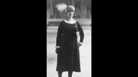 """Magda Julin of Sweden competed at the 1920 Olympic Games as an individual figure skater while four months pregnant. She won gold at the games, which took place in Antwerp that year. Julin continued skating well into her 90s, according to the <a href=""""http://sok.se/idrottare/idrottare/m/magda-julin.html"""" target=""""_blank"""" target=""""_blank"""">Swedish Olympic website</a>, and died at the age of 96."""