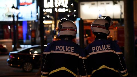 Authorities closed the world-famous shopping street and told people to avoid the area.