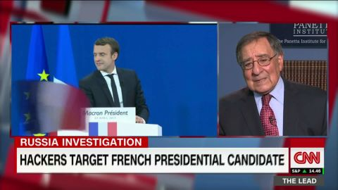 leon panetta the lead jake tapper interview part two cyber attacks russia_00002510.jpg