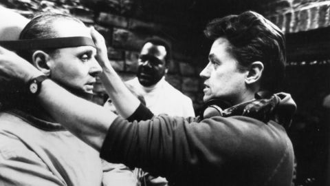 """Filmmaker <a href=""""http://www.cnn.com/2017/04/26/entertainment/jonathan-demme-death-trnd/index.html"""" target=""""_blank"""">Jonathan Demme</a>, whose Oscar-winning thriller """"The Silence of the Lambs"""" terrified audiences, died April 26 at the age of 73. Here, Demme works on the """"Silence of the Lambs"""" set with actor Anthony Hopkins in 1991. Demme's other films include """"Philadelphia,"""" """"Married to the Mob"""" and a remake of """"The Manchurian Candidate."""""""