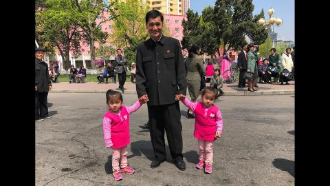 Ripley noted that in Pyongyang, children are often seen dressed in bright, colorful clothing, contrasting with the more conservative and darker outfits worn by many adults.