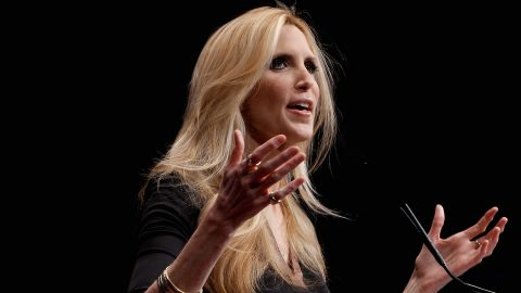 WASHINGTON, DC - FEBRUARY 10:  Conservative author and pundit Ann Coulter delivers remarks to the Conservative Political Action Conference (CPAC) at the Marriott Wardman Park February 10, 2012 in Washington, DC. Thousands of conservative activists are attending the annual gathering in the nation's capital.  (Photo by Chip Somodevilla/Getty Images)