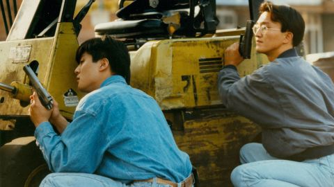 Korean storeowners during the 1992 riots.