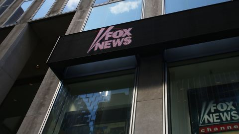 The News Corporation headquarters, owner of Fox News, stands in Manhattan on April 5, 2017 in New York City.