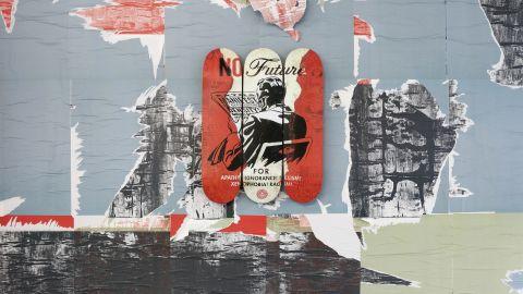 """""""No Future"""" by Shepard Fairey"""
