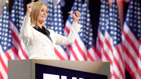 Host Samantha Bee onstage during Full Frontal With Samantha Bee's Not The White House Correspondents' Dinner at DAR Constitution Hall on April 29, 2017 in Washington, DC.  (Photo by Jason Kempin/Getty Images for TBS)