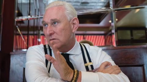 """Roger Stone in """"Get Me Roger Stone."""""""