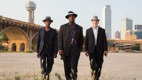 """Johnnie Lindsey, Christopher Scott, and Steven Phillips in """"True Conviction."""""""