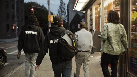 "The members of ""We Copwatch"" in the film ""Copwatch."""