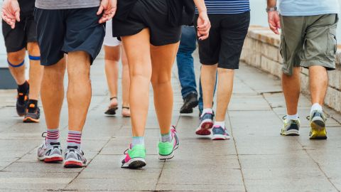 Walking for about 30 minutes three times a week can improve executive functioning and reduce cognitive decline.