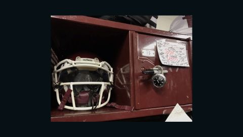 The team plans to keep Jordan's locker intact and possibly design a helmet decal with his freshman number -- No. 11 -- to honor the Mesquite High School freshman