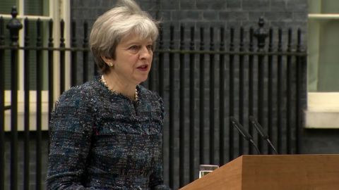 British Prime Minister Theresa May's party emerged victorious in UK local elections.