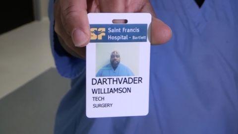 Yep, that's his real name.