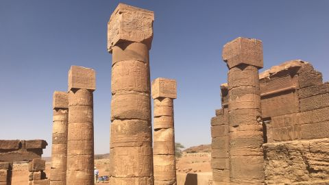 According to UNESCO, the wide range of architectural forms found at the Island of Meroe -- a semi-desert landscape between the Nile and Atbara rivers -- is proof of contact between Sub-Saharan Africa and the Mediterranean and Middle Eastern worlds in this period.