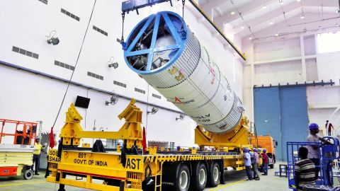 The satellite will provide communications and disaster management services across South Asia.