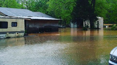 Zeb Cheek says he never expected floodwaters to rise so high or so fast.