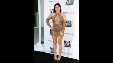 """""""Modern Family"""" star Ariel Winter has taken on those who have body shamed her for everything from the size of her breasts to how she dresses."""