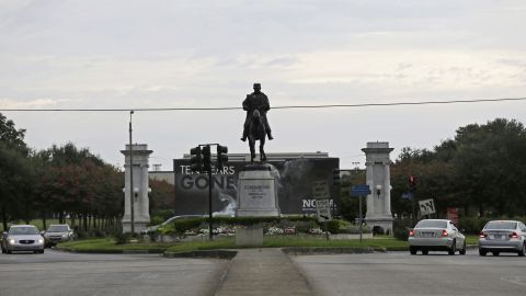 A statue of P.G.T. Beauregard is at the entrance to City Park at Esplanade Avenue in September 2015.