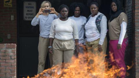 A scene from 'Orange Is The New Black' Season 5
