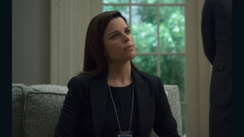 Neve Campbell in 'House of Cards'