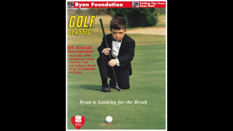 Ryan Dant was the focal point of several fundraising efforts, including golf tournaments, arranged by his father for MPS research.