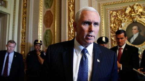 Vice President Mike Pence plans to deliver Notre Dame's commencement speech on Sunday.