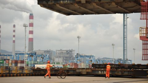 """China's vast container ports will play a major role in """"One Belt, One Road."""""""