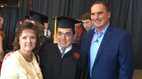 """Ryan Dant graduated from the University of Louisville on Saturday. His father credits """"hard work and great science"""" for even making the day possible. Click through our gallery to learn more about Ryan's life."""