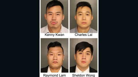 Four men plead guilty Monday May 15, 2017 in connection to the death of Michael Deng in 2013. Deng died of his injuries sustained during a hazing ritual during a fraternity trip to the Poconos in Pennsylvania.