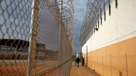 The detainee was found unresponsive in his cell at the Stewart Detention Center in Lumpkin, Georgia.