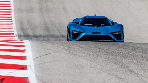 The NIO EP9 recently broke the lap record at Germany's famous Nurburgring circuit.