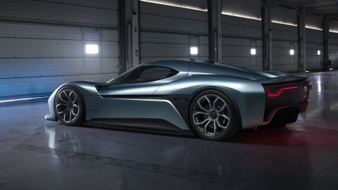 The EP9 can accelerate from 0-124 mph (200 kph) in 7.1 seconds.