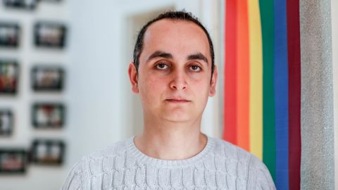 Kemal Ordek, author, activist and director of the Red Umbrella Organization Sexual Health and Human Rights.