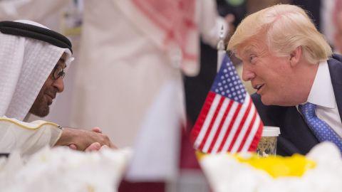 Trump speaks with the Crown Prince of Abu Dhabi, Gen. Sheikh Mohammed Bin Zayed Al Nahyan.