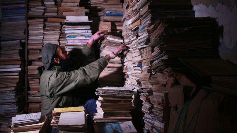 Hamzeh AlMaaytah runs a 24/7 bookstore in Jordan's capital, Amman.