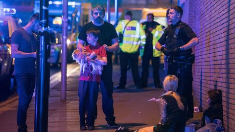"""Greater Manchester Police tweeted that emergency services were """"responding to (a) serious incident at Manchester Arena. Avoid the area. More details will follow as soon as available."""""""