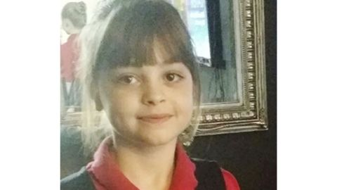 Saffie Rose Roussos, 8, was among those killed in the Manchester Arena attack.