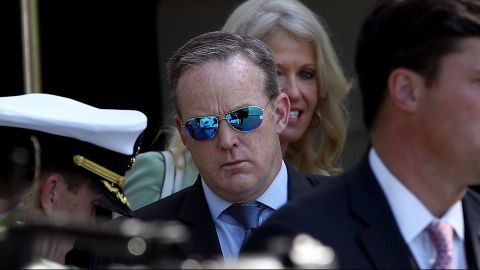 spicer not invited to visit pope