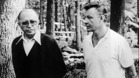 """<a href=""""http://www.cnn.com/2017/05/26/politics/zbigniew-brzezinski-dead/"""" target=""""_blank"""">Zbigniew Brzezinski</a>, the national security adviser to President Jimmy Carter, died May 26 at age 89. Brzezinski is seen here at right talking with Israeli Prime Minister Menahem Begin in 1978."""