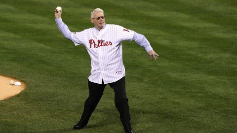"""Former US Sen. <a href=""""http://www.cnn.com/2017/05/27/politics/jim-bunning-obituary/index.html"""" target=""""_blank"""">Jim Bunning</a>, the only National Baseball Hall of Fame member ever to serve in Congress, died May 26 at the age of 85."""