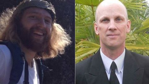 Taliesin Myrddin Namkai-Meche, left, and Ricky Best died the train attack.