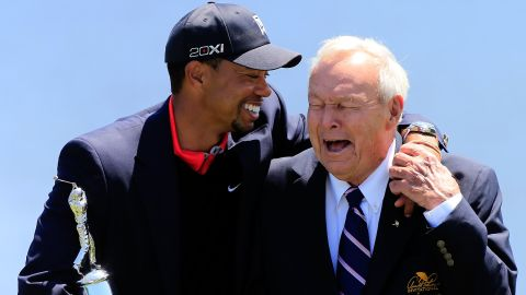 Woods was back in the winner's circle in 2013, lifting five titles, including the Arnold Palmer Invitational, to get back to the top of the rankings.