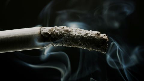 LONDON - MAY 16:  In this photo illustration a cigarette is seen burning on May 16, 2007 in London. Businesses and shops are gearing up for the introduction of the smoking ban on July 1 in England after similar bans have been introduced in Ireland, Scotland and Wales.  (Photo Illustration by Bruno Vincent/Getty Images)