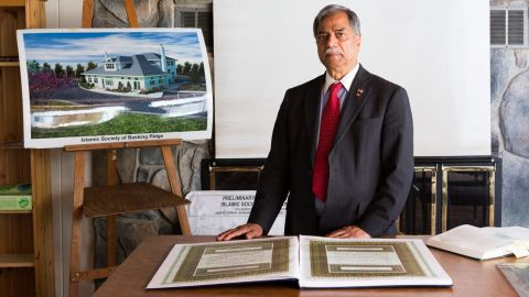 Dr. Mohammed Ali Chaudry was the plaintif on behalf of the Islamic Society of Basking Ridge, New Jersey.