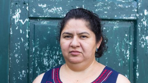 Juana Ortega found out last month she had to leave the US after having been here since 1993.
