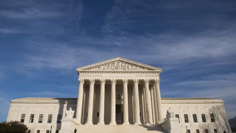 The US Supreme Court is seen in Washington, DC, on January 31, 2017.
